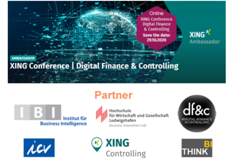 XING Conference   Digital Finance & Controlling (Virtual Edition)