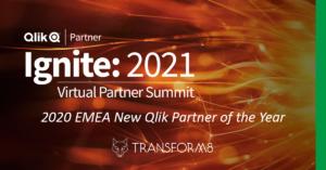Transform8 wins Qlik Partner Award